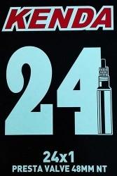 CAMARA KENDA 24X1 V/PRESTA 48MM (SILLA RUEDAS)