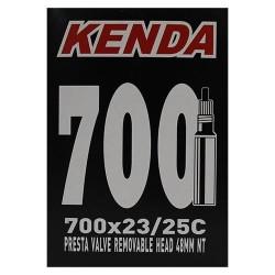 CAMARA KENDA 700X23-25C  PRESTA 48MM DESMONTABLE