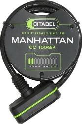 CANDADO ESPIRAL CITADEL MANHATTAN 150/8/K LLAVE